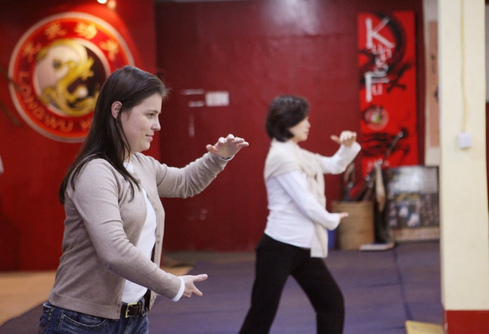 woman martial art